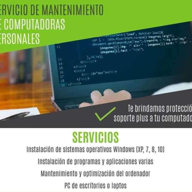 Servicio de mantenimiento de computadoras - 0