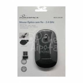Mouse Óptico Inalámbrico Powerpack MUS-258