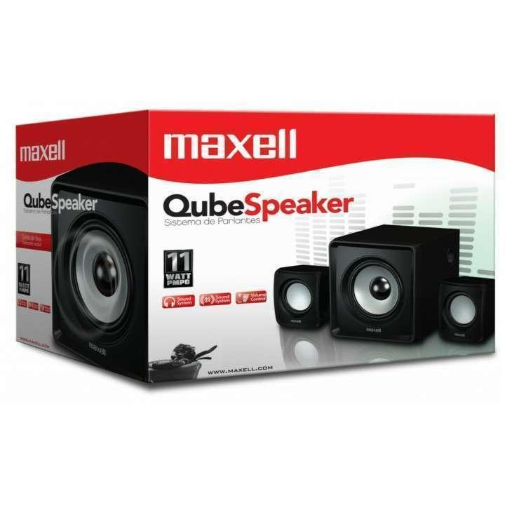 Parlante Maxell Qube 2.1 - 1