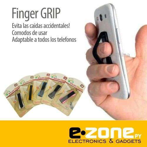 Finger grip sujetador universal para smartphones - 0