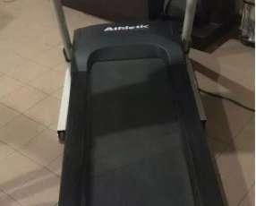 Caminadora athletic advanced 530t para 120 kilos