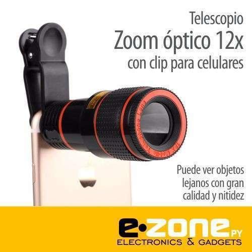 Telescopio zoom óptico 12x y 18x para smartphone - 0