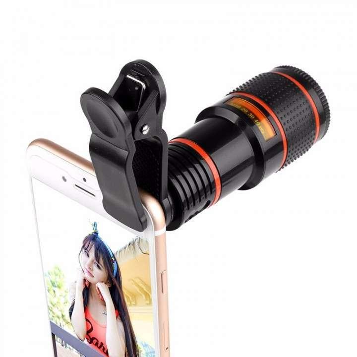 Telescopio zoom óptico 12x y 18x para smartphone - 1