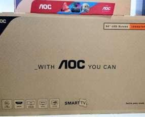 Smart tv AOC 50 pulgadas 4K UHD nuevas