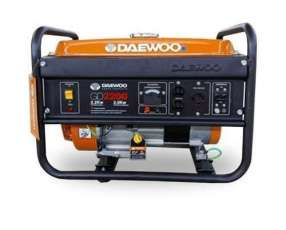 Generador de Corriente Daewoo GD 2200 2200W 220V naftero