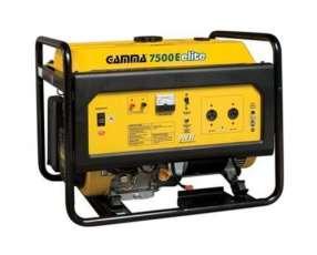 Generador de Corriente Gamma GE3462 7000W 220V Naftero