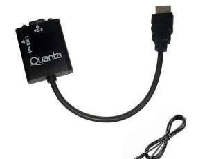 Adaptador conversor HDMI A VGA