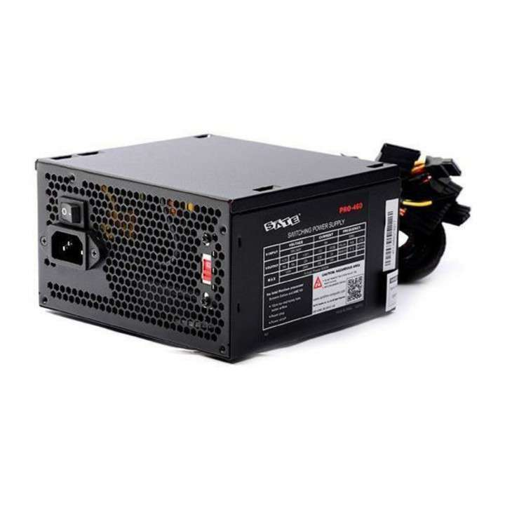 Fuente para PC Sate 400W real pro-460 - 0