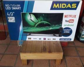 Tv LED Smart de 49 pulgadas Midas