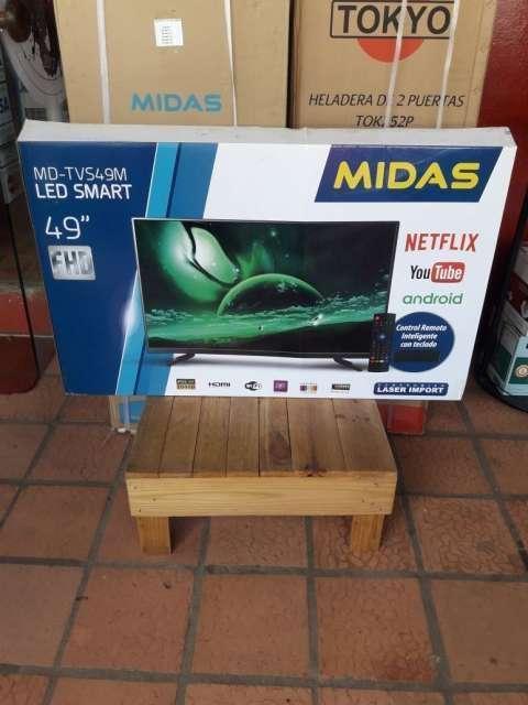 Tv LED Smart de 49 pulgadas Midas - 0