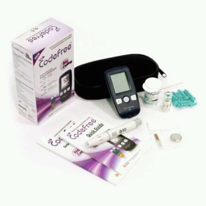Codefree medidor de glucosa - 0