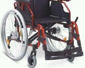 Silla de ruedas Alud Red aluminio liviano