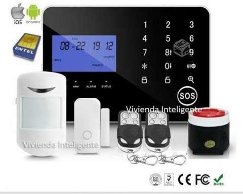 Alarma GSM para casas oficinas o depósitos