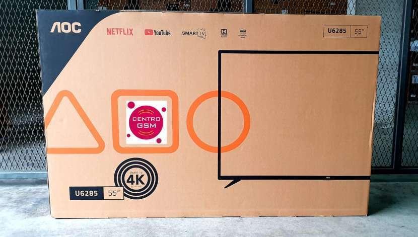 Smart Tv AOC 55 pulgadas 4K UHD nuevas - 0