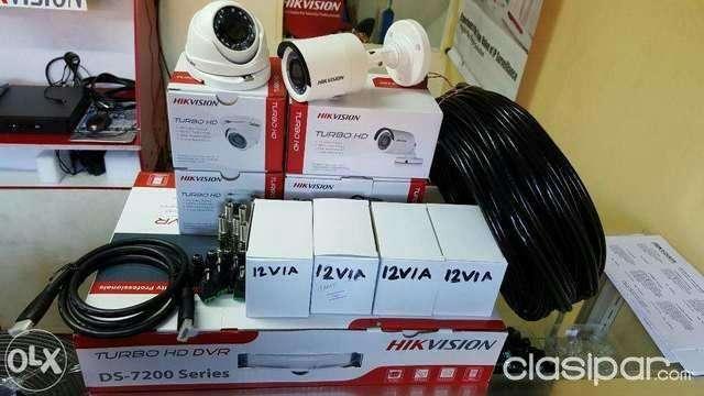 Instalación cámaras de seguridad HD