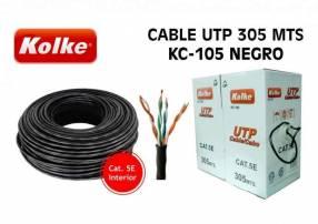 Cable UTP interior Kolke CAT 5E 305 metros