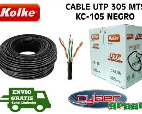 Cable UTP Interior Kolke CAT 5E 305 metros
