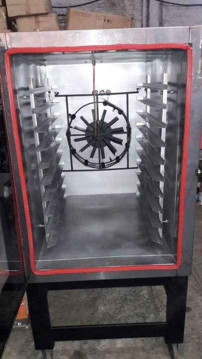 Horno turbo convector con vaporizador para 10 bandejas - 1