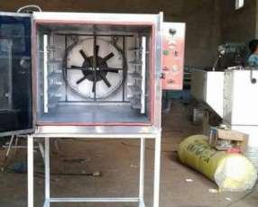 Horno Turbo Convector para 5 bandejas.