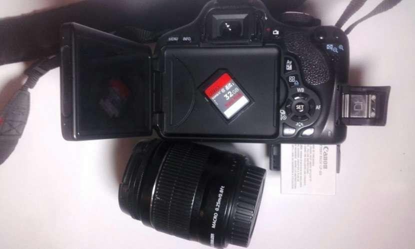 Cámara Canon T3i 600D y accesorios - 1