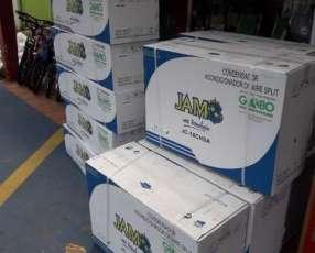 Aire acondicionado split Jam 18.000 btu gas ecológico
