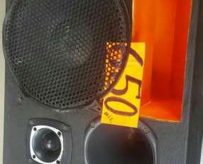 Caja de audio para auto