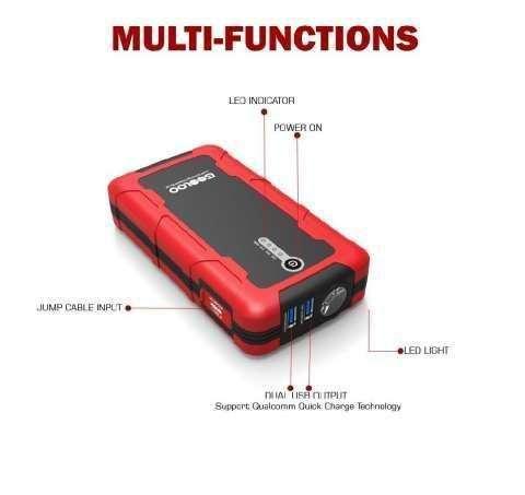 Cargador portátil para batería de vehículo - 2