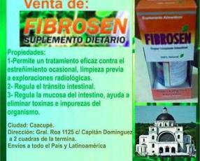 Producto Fibrosen Super Limpieza Intestinal