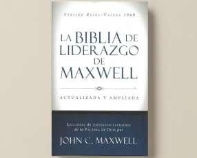 Biblia del liderazgo de Jhon Maxwell