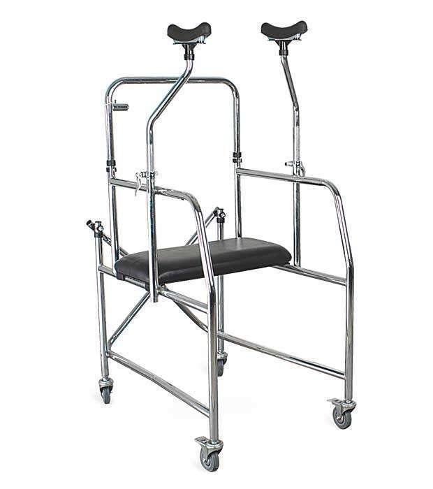 Andador bipedestador axilar para persona en rehabilitación - 0