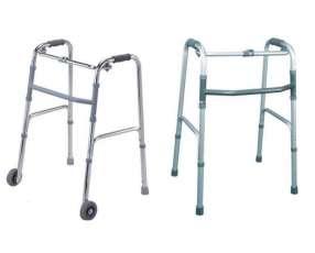 Andadores con y sin ruedas