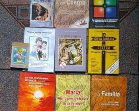 Libros católicos varios y CD Shema y Kiki Troya originales