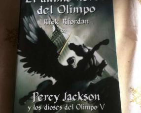 Percy Jackson el último héroe del olimpo