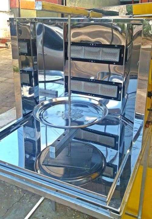 Maquina para lomito árabe, shawarma árabe