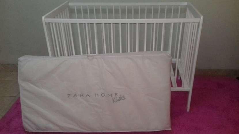 Cuna para bebé desarmable con colchon sommier Zara - 5