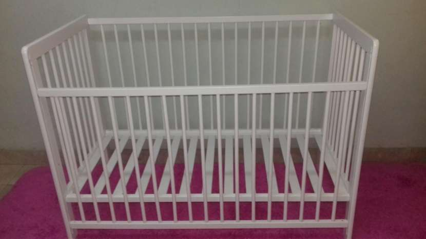 Cuna para bebé desarmable con colchon sommier Zara - 1