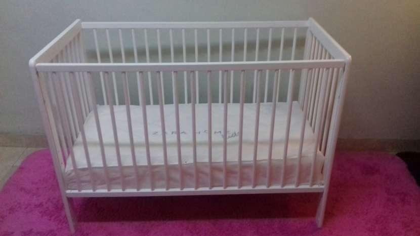 Cuna para bebé desarmable con colchon sommier Zara - 3