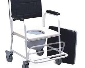 Silla sanitaria desmontable con ruedas