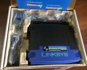 Router de banda ancha Wireless-G Linksys WRT54G
