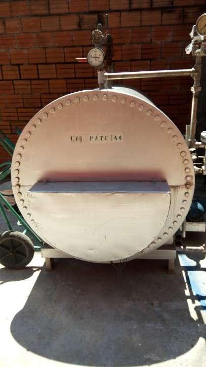 Caldera de vapor sanitario 500kls/hora
