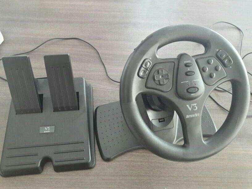 Volante V3 racing wheel sin uso