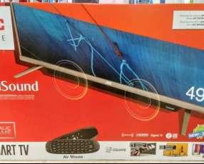 Smart Tv JVC 49 pulgadas con teclado completo