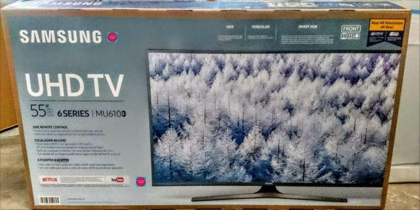 Smart tv Samsung 55 pulgadas 4k nuevas - 0