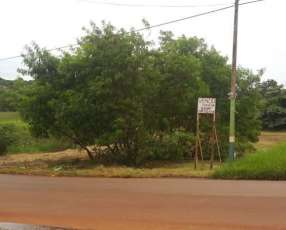 Terreno 20x42 en CDE sobre asfalto km 9 Monday