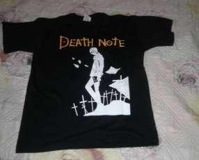 Remera de Death Note