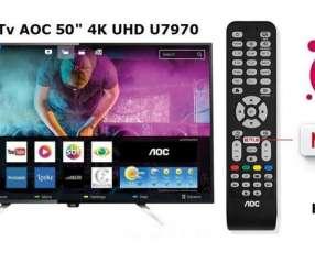 Smart Tv AOC 4K UHD 50 pulgadas nuevas