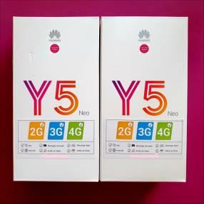 Huawei Y5 Neo de 16 gb nuevos en caja