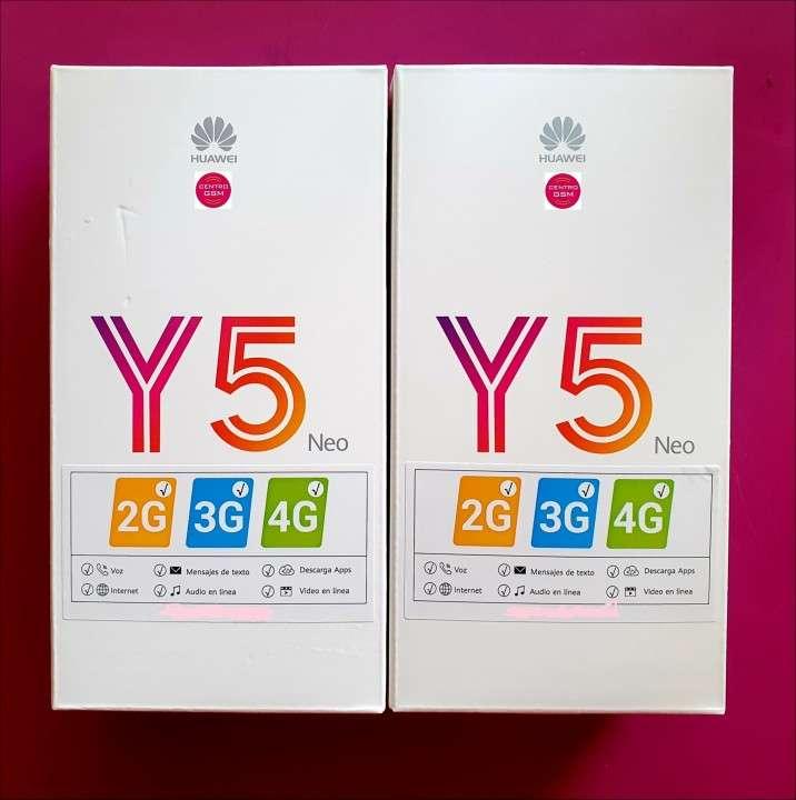 Huawei Y5 Neo de 16 gb nuevos en caja - 0