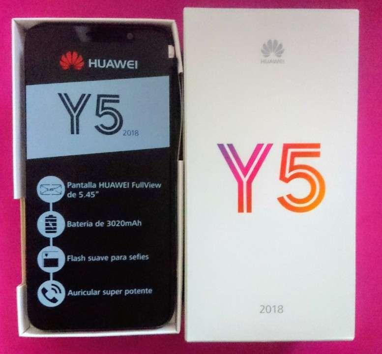 Huawei Y5 2018 de 16 gb nuevos en caja - 0