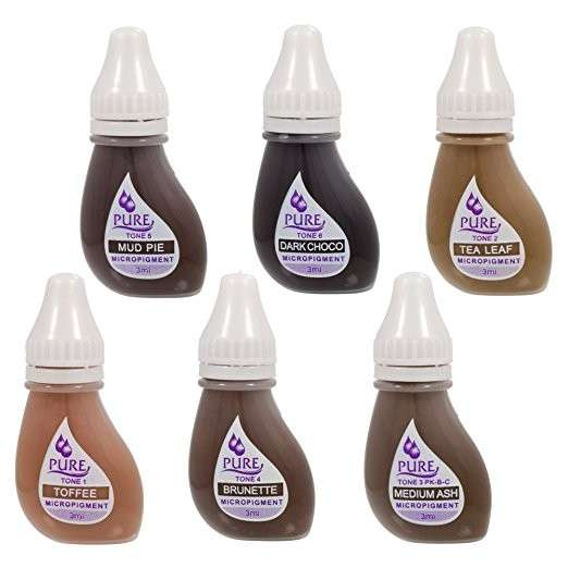 Pigmentos para microblanding - 1